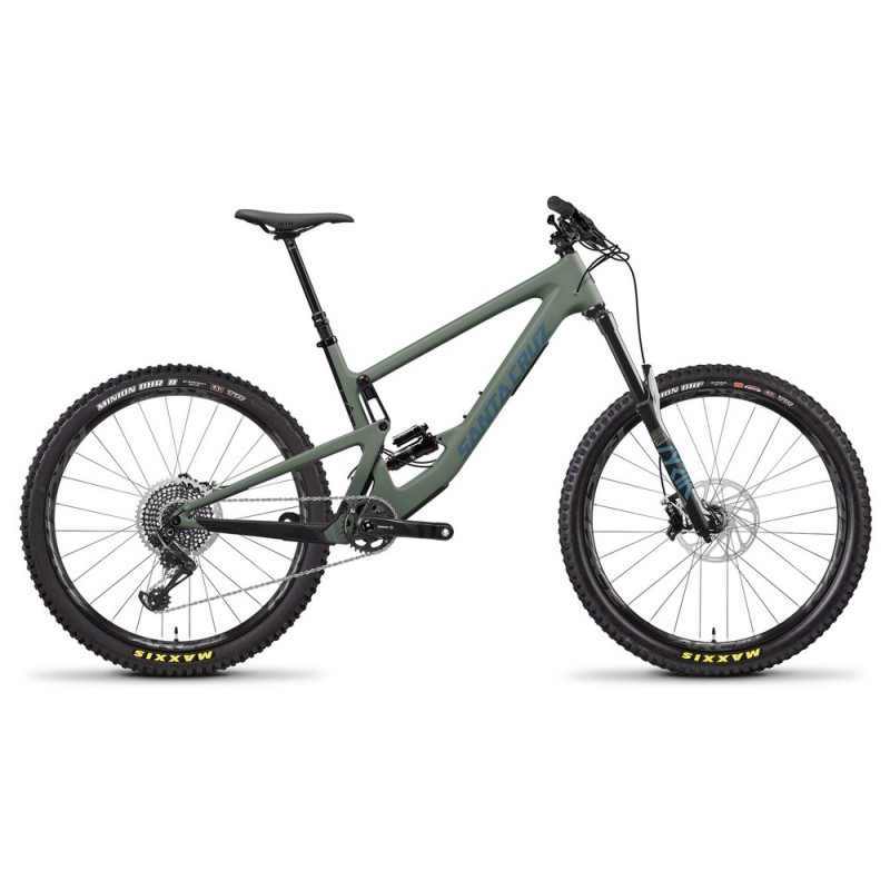 "Santa Cruz Bronson Carbon CC X01 27.5"" Mountain Bike 2021"