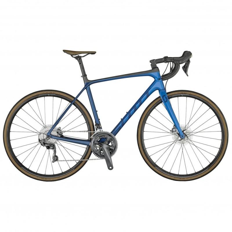 Scott Addict 10 Disc Road Bike-Marine Blue 2021