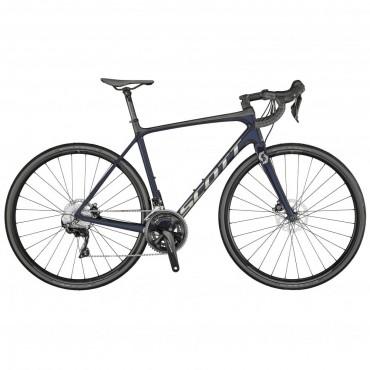 Scott Addict 20 Disc Road Bike-Stellar Blue 2021
